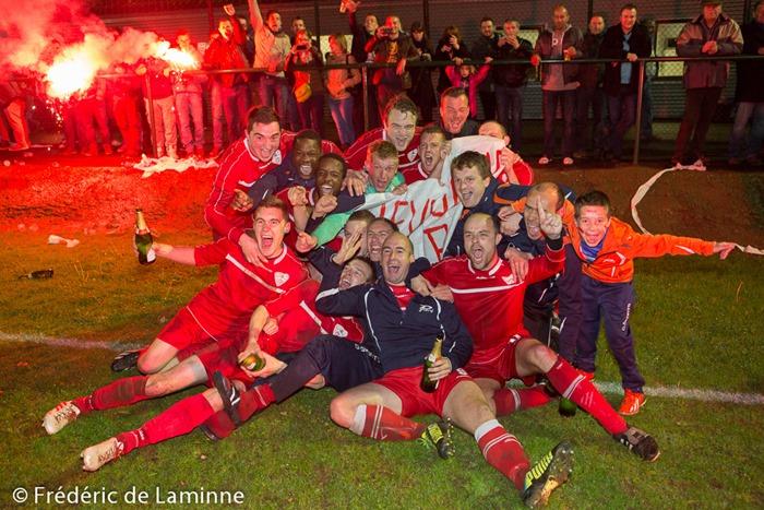 Match de Football TF P2: Chevetogne – Gesves qui s'est déroulé à Chevetogne (Rue des Coccinelles) le 10/05 /2014.