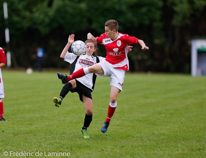 lors du 1er tour Coupe de BelgiqueFoot féminin : Hastière – Standard C qui s'est déroulé à Hastière (-) le 16/08/2014.