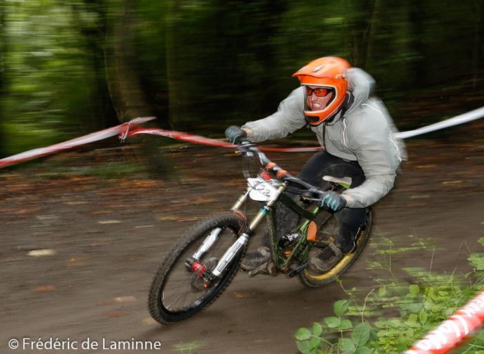 VTT Downhill Namur qui s'est déroulé à Namur (citadelle) le 05/10/2014.