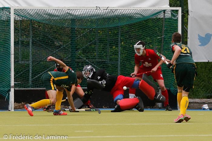 Match de Hockey: Namur – Ombrage qui s'est déroulé à Jambes (RHCN) le 26/04 /2015.