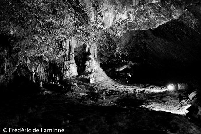 Les Grottes de Han comme on a l'habitude de les voir. Han-sur-Lesse (Grottes de Han) le 04/07/2015.