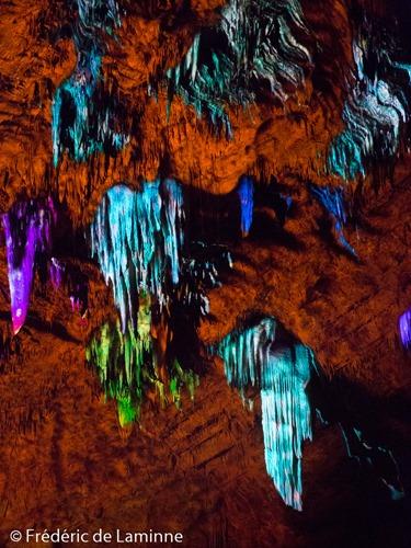 Spectacle Un autre Monde qui s'est déroulé à Han-sur-Lesse (Grottes de Han) le 04/07/2015.