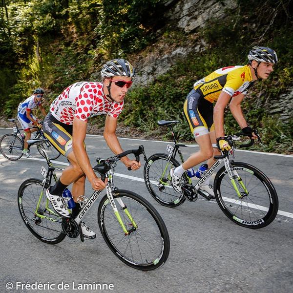Le maillot à pois, Gertjan DE VOS du team 3M lors de la 2eme étape du 68ème tour de la province de Namur entre Gedinne et Bièvre le 06/08 /2015.