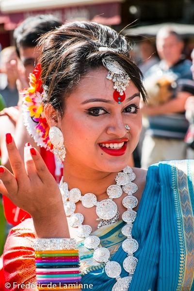 Parade du Festival de Folklore de Jambes qui s'est déroulé à Namur (centre ville) le 22/08/2015.