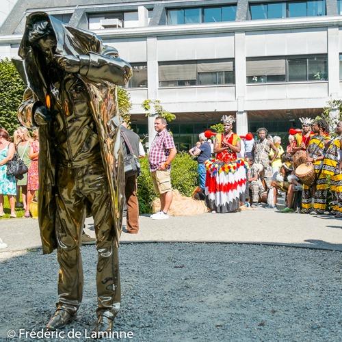 Parade du Festival de Folklore de Jambes qui s'est déroulé à Namur (Jardins du maieur) le 22/08/2015.