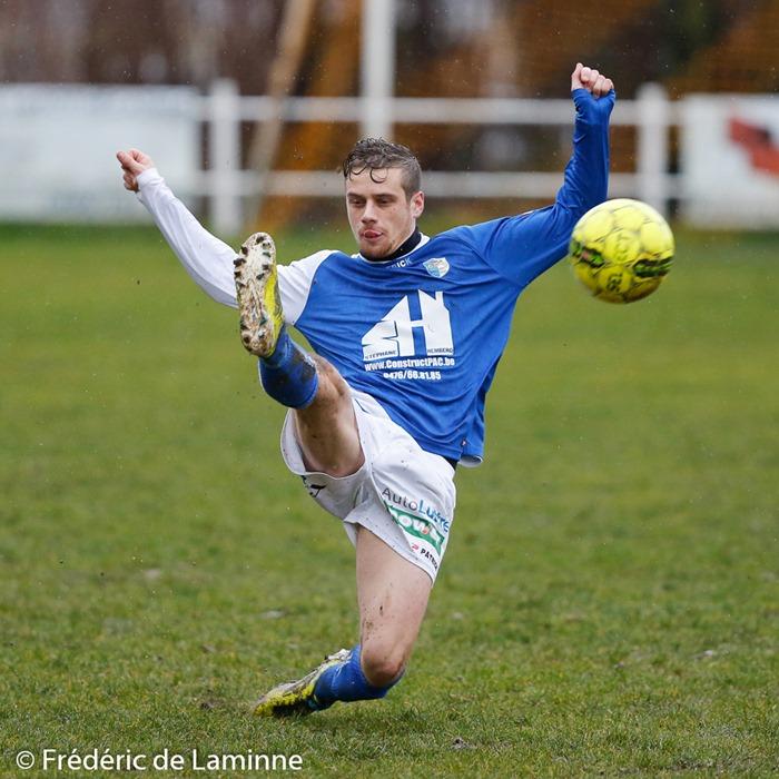 Match de FootballP1 hainaut : Fontaine-L'Evêque – PàC Buzet qui s'est déroulé à Fontaine l'Evêque (-) le 10/01 /2016.