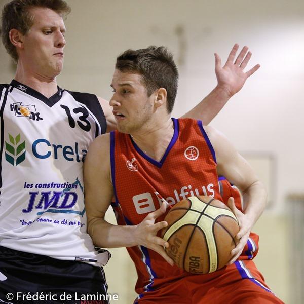 Match Basket-ball R1: Gembloux – Ste-Walburge qui s'est déroulé à Gembloux (Chapelle Dieu) le 13/02/2016.