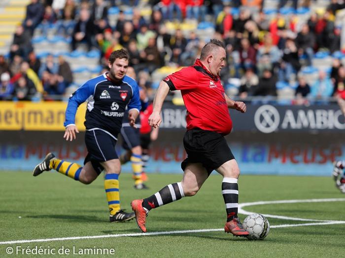 Football match de gala: Héros du Gazon – Anciennes gloires qui s'est déroulé à Sint Truiden (Tayen) le 27/03/2016.