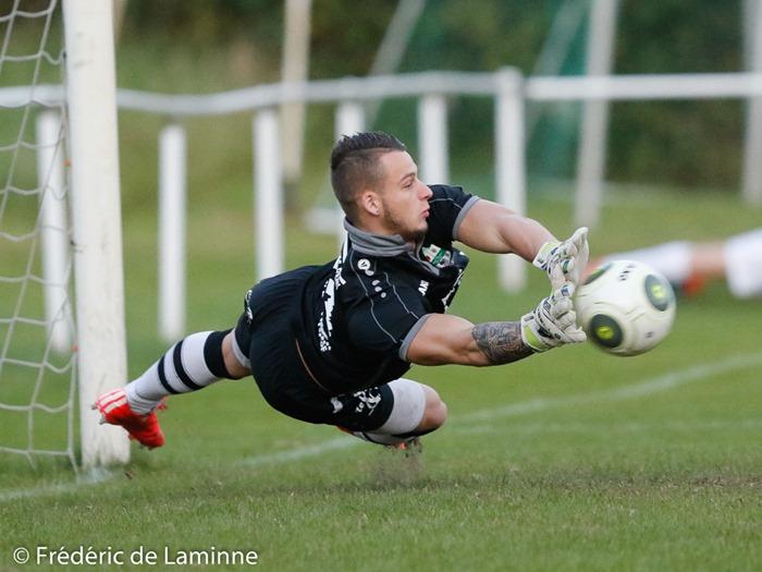 Sascha SAIGAL (44) GK du R. Chatelet – Farciennes S.C. lors du match amicalde Football : Chatelet Farciennes – Onhaye qui s'est déroulé à Farciennes (Stade des Marais) le 10/08/2016.