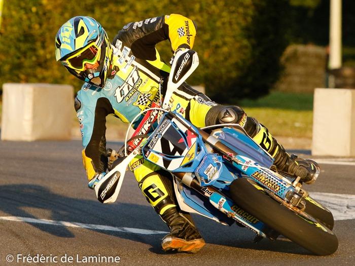 CHAREYRE THOMAS (4) lors du 30ème Superbiker qui s'est déroulé à Mettet (Circuit Jules Tacheny) le 09/10/2016.