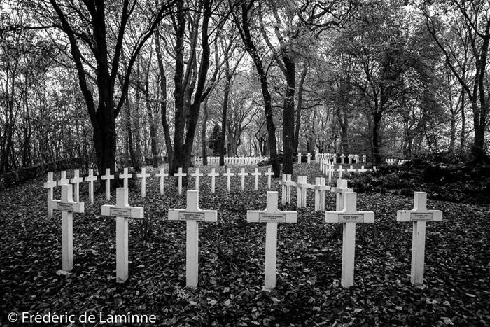 Le cimetière militaire du phare breton. 08/11/2016.