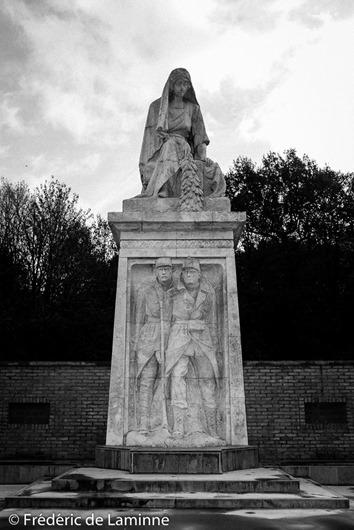 Le cimetière militaire de Champion. 10/11/2016.