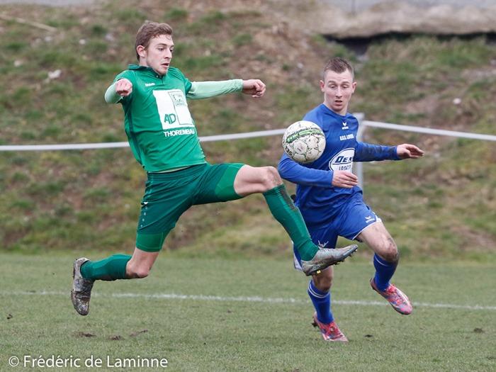 Match de Football P1: Loyers – Grand-Leez qui s'est déroulé à Loyers (Complexe Sportif) le 26/02/2017.