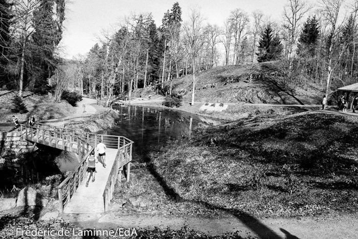 Trail de Chevetogne qui s'est déroulé à Chevetogne (Parc Provincial) le 12/03/2017.
