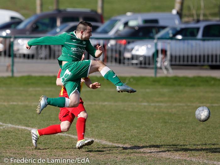 Match de Football P2: Bioul-Condruzien qui s'est déroulé à Bioul (-) le 26/03/2017.