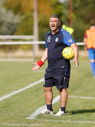 Marco CASTO (c) T1 du RFC Meux lors du Match de Football Croky Cup: Meux – Waltwilder qui s'est déroulé à Meux (RFC Meux) le 06/08/2017.