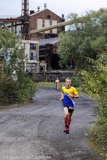 Lors de l'Industrail les participants ont sillonné quelques vestiges du passé industriel de Charleroi. Charleroi (Rockerill) le 31/08/2017.